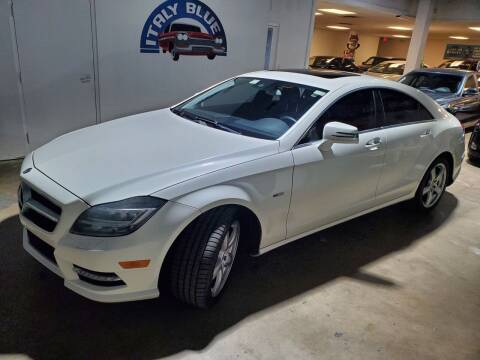2012 Mercedes-Benz CLS for sale at Italy Blue Auto Sales llc in Miami FL