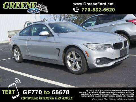 2014 BMW 4 Series for sale at NMI in Atlanta GA