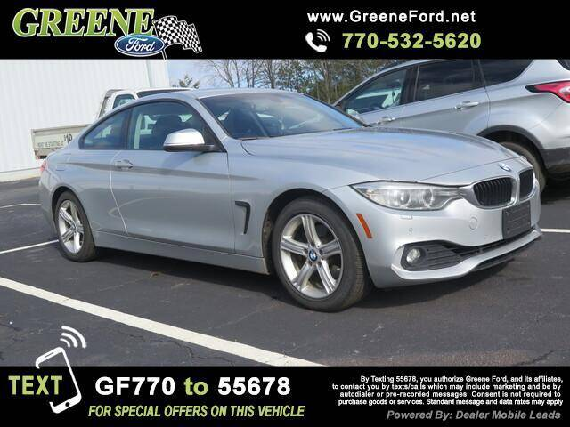 2014 BMW 4 Series for sale at NMI in Atlanta GA