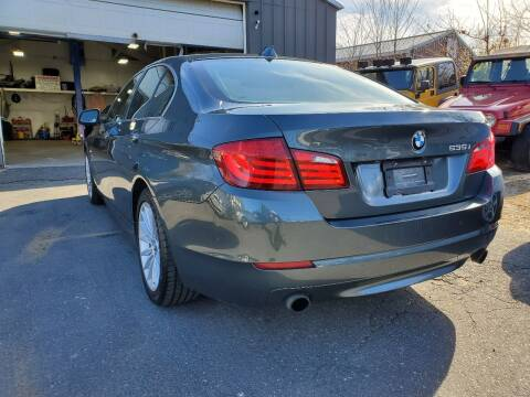 2011 BMW 5 Series for sale at MX Motors LLC in Ashland MA