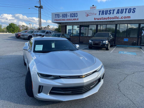 2016 Chevrolet Camaro for sale at Trust Autos, LLC in Decatur GA