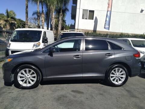2012 Toyota Venza for sale at Western Motors Inc in Los Angeles CA