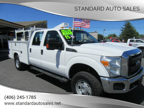 2015 Ford F-350 Super Duty for sale at Standard Auto Sales in Billings MT