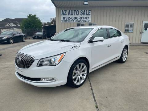 2016 Buick LaCrosse for sale at AZ Auto Sale in Houston TX