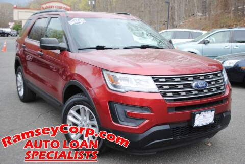 2017 Ford Explorer for sale at Ramsey Corp. in West Milford NJ