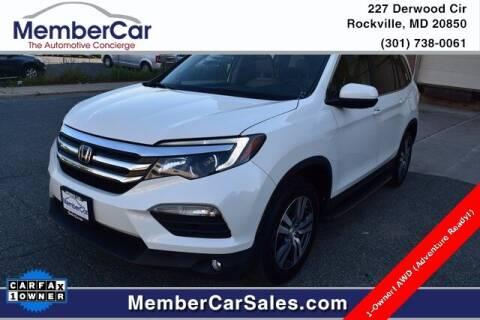 2017 Honda Pilot for sale at MemberCar in Rockville MD