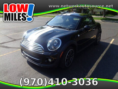 2013 MINI Coupe for sale at Network Auto Source in Loveland CO