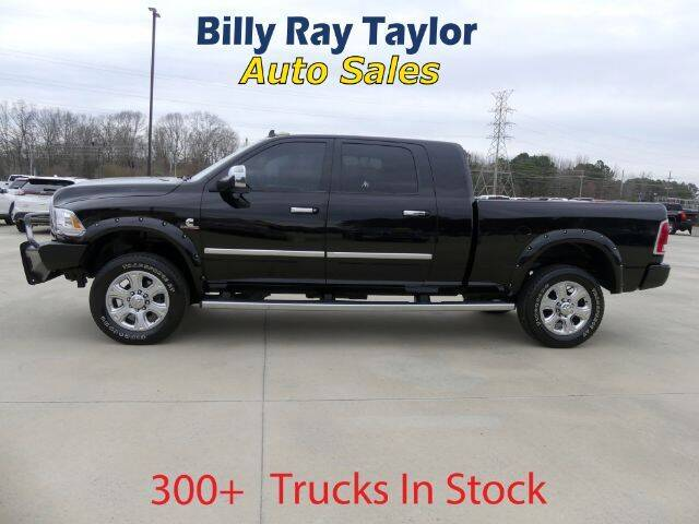 2014 RAM Ram Pickup 2500 for sale at Billy Ray Taylor Auto Sales in Cullman AL