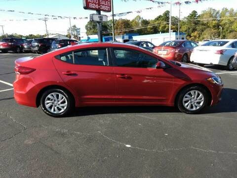 2017 Hyundai Elantra for sale at Kenny's Auto Sales Inc. in Lowell NC