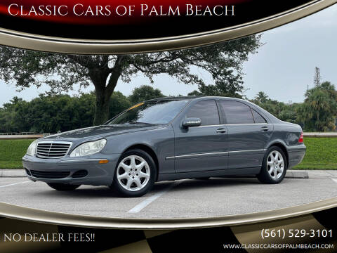2006 Mercedes-Benz S-Class for sale at Classic Cars of Palm Beach in Jupiter FL