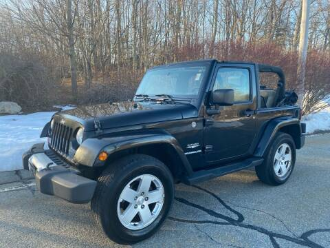 2010 Jeep Wrangler for sale at Padula Auto Sales in Braintree MA