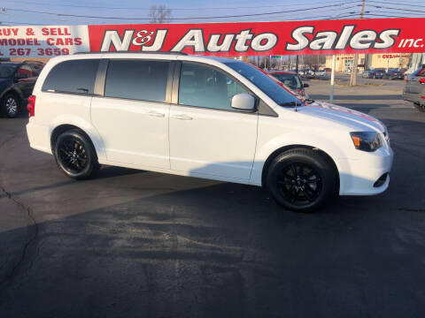 2019 Dodge Grand Caravan for sale at N & J Auto Sales in Warsaw IN