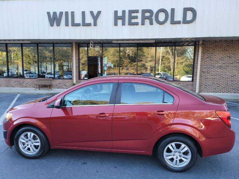 2016 Chevrolet Sonic for sale at Willy Herold Automotive in Columbus GA