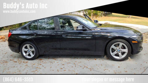 2013 BMW 3 Series for sale at Buddy's Auto Inc in Pendleton SC