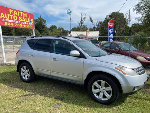 2007 Nissan Murano for sale at Faith Auto Sales in Jacksonville FL