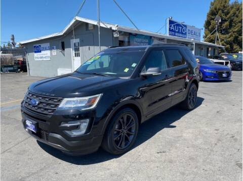 2017 Ford Explorer for sale at AutoDeals in Daly City CA
