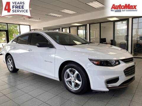 2016 Chevrolet Malibu for sale at Auto Max in Hollywood FL