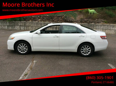 2011 Toyota Camry for sale at Moore Brothers Inc in Portland CT