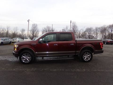 2016 Ford F-150 for sale at Pool Auto Sales Inc in Spencerport NY