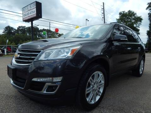 2013 Chevrolet Traverse for sale at Medford Motors Inc. in Magnolia TX