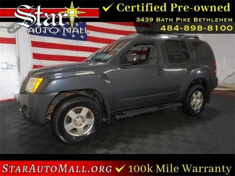 2008 Nissan Xterra for sale at STAR AUTO MALL 512 in Bethlehem PA