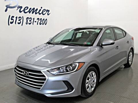 2017 Hyundai Elantra for sale at Premier Automotive Group in Milford OH