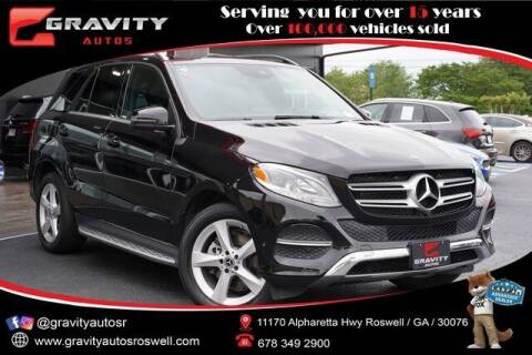 2018 Mercedes-Benz GLE for sale at Gravity Autos Roswell in Roswell GA