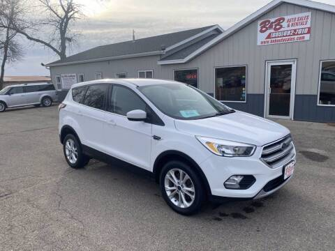 2017 Ford Escape for sale at B & B Auto Sales in Brookings SD