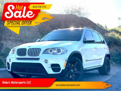 2012 BMW X5 for sale at Baba's Motorsports, LLC in Phoenix AZ