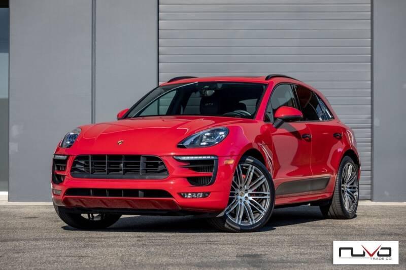 2017 Porsche Macan for sale at Nuvo Trade in Newport Beach CA