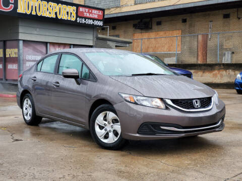 2014 Honda Civic for sale at KC MOTORSPORTS in Tulsa OK