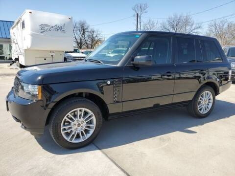 2012 Land Rover Range Rover for sale at Kell Auto Sales, Inc in Wichita Falls TX