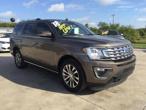 2018 Ford Expedition for sale at A & V MOTORS in Hidalgo TX