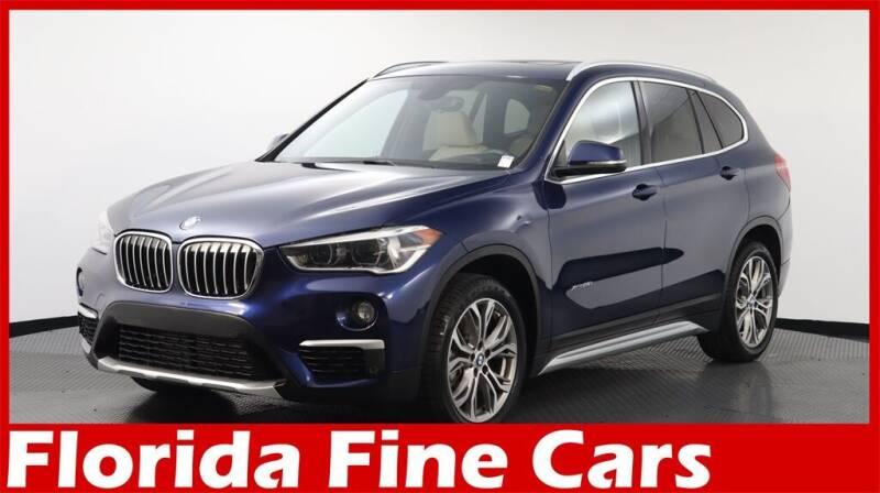 2017 BMW X1 for sale at Florida Fine Cars - West Palm Beach in West Palm Beach FL