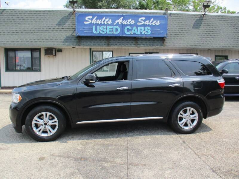 2013 Dodge Durango for sale at SHULTS AUTO SALES INC. in Crystal Lake IL