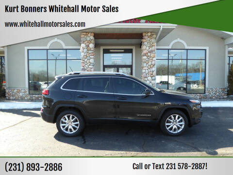 2015 Jeep Cherokee for sale at Kurt Bonners Whitehall Motor Sales in Whitehall MI