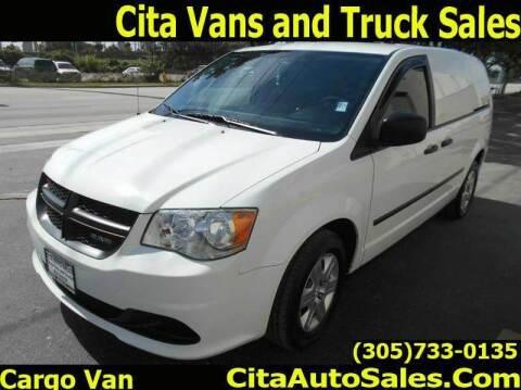 2014 RAM C/V for sale at Cita Auto Sales in Medley FL