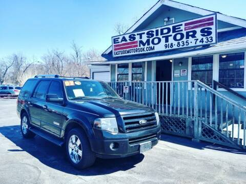 2007 Ford Expedition for sale at EASTSIDE MOTORS in Tulsa OK