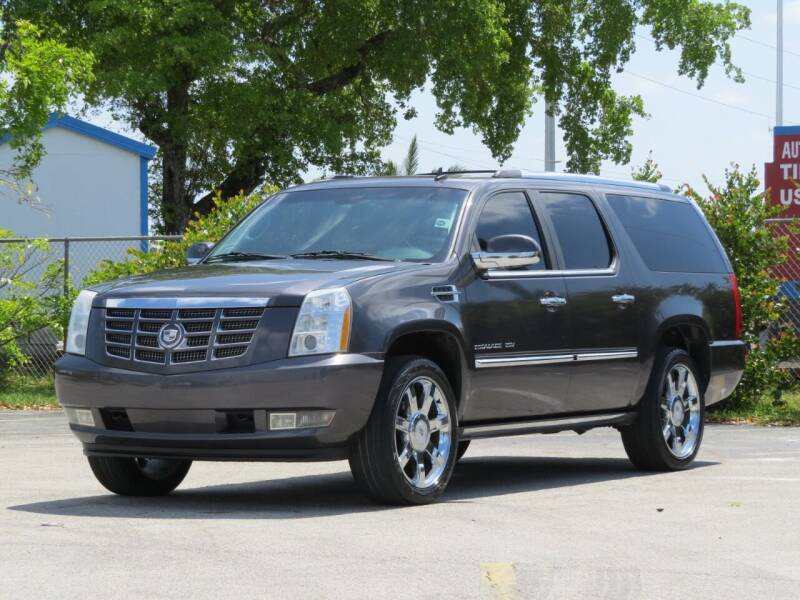 2010 Cadillac Escalade ESV for sale at DK Auto Sales in Hollywood FL