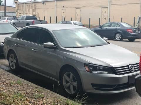 2013 Volkswagen Passat for sale at ATLANTIC MOTORS GP LLC in Houston TX