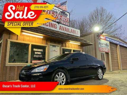 2006 Honda Accord for sale at Oscar's Truck Center, LLC in Houston TX