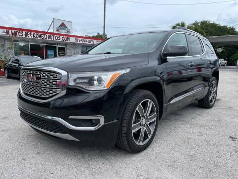 2017 GMC Acadia for sale at Always Approved Autos in Tampa FL
