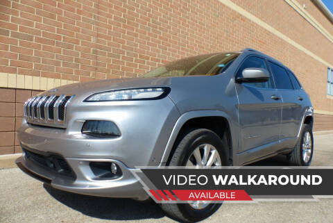 2016 Jeep Cherokee for sale at Macomb Automotive Group in New Haven MI