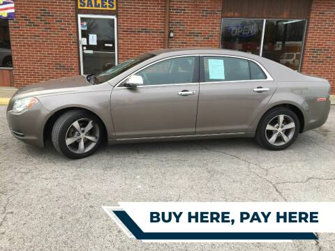 2011 Chevrolet Malibu for sale at Atlas Cars Inc. in Radcliff KY
