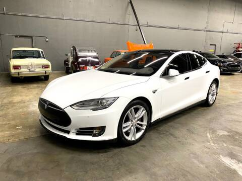 2015 Tesla Model S for sale at EA Motorgroup in Austin TX
