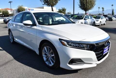 2021 Honda Accord for sale at DIAMOND VALLEY HONDA in Hemet CA