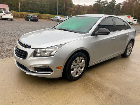 2016 Chevrolet Cruze Limited for sale at Alpha Automotive in Odenville AL