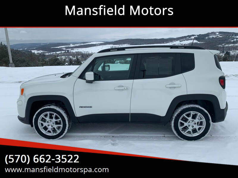 2019 Jeep Renegade for sale at Mansfield Motors in Mansfield PA