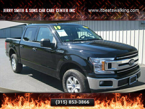 2019 Ford F-150 for sale at Jerry Smith & Sons Car Care Center Inc in Westmoreland NY