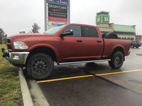 2013 RAM Ram Pickup 2500 for sale at Truck Buyers in Magrath AB